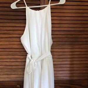 A. Byer Off White Dress